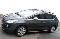Peugeot 3008 2008-2016 гг. Рейлинги Skyport Grey