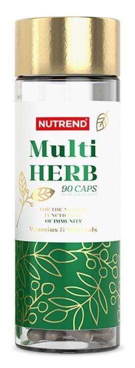 Nutrend MultiHerb 90 caps