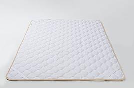 Наматрасник из шерсти мериносов Белый классический 200х200