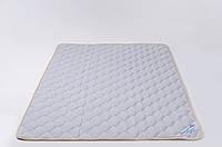 Наматрасник из шерсти мериносов Серый/Полоски 200х200, фото 1