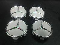 Mercedes CLK W208 Колпачки в оригинальные диски 71 мм (4 шт)