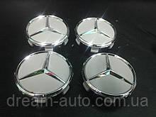 Mercedes E-klass W212 Ковпачки в оригінальні диски 71 мм (4 шт)