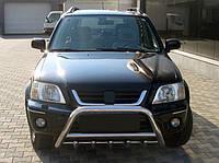 Honda CRV 2001-2006 гг. Кенгурятник WT003 (нерж.)