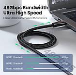 HDMI Ugreen 2.1, 8K 60Hz, 4K 120Hz, 48 Gbps/HDR10+, фото 3