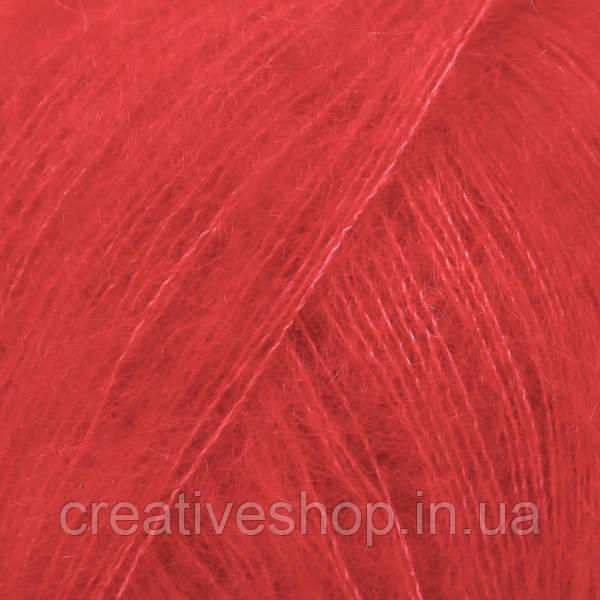 Пряжа Drops Kid Silk (цвет 14 red)