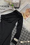 Модное женское платье на одно плече с украшением, фото 5