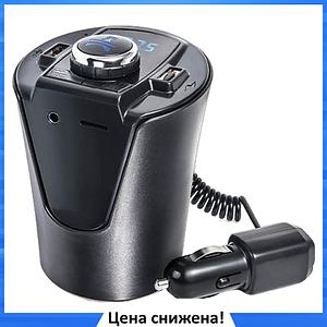 Трансмитер FM MOD H26 + BT, MP3 модулятор, фм модулятор для авто, Трансмиттер с экраном, блютуз модулятор