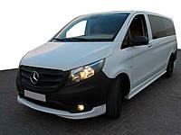 Mercedes Vito / V W447 2014↗ гг. Тюнинг обвес на передний бампер (под покраску)
