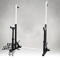 Стійки під штангу з страховкою / Стойки под штангу со страховкой 40х40х2 (До 200 кг), фото 2
