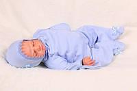 """Набор для новорожденного """"Бусинка"""" (голубой)"""