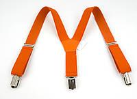 Детские подтяжки-резинка кислотно оранжевого цвета (73741)