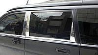 Honda HR-V 1998-2006 гг. Молдинг дверных стоек (нерж)