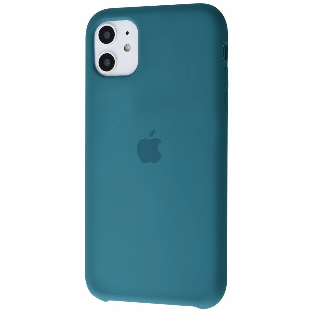 Чохол Silicone Case (Premium) для iPhone 11 Alaskan Blue