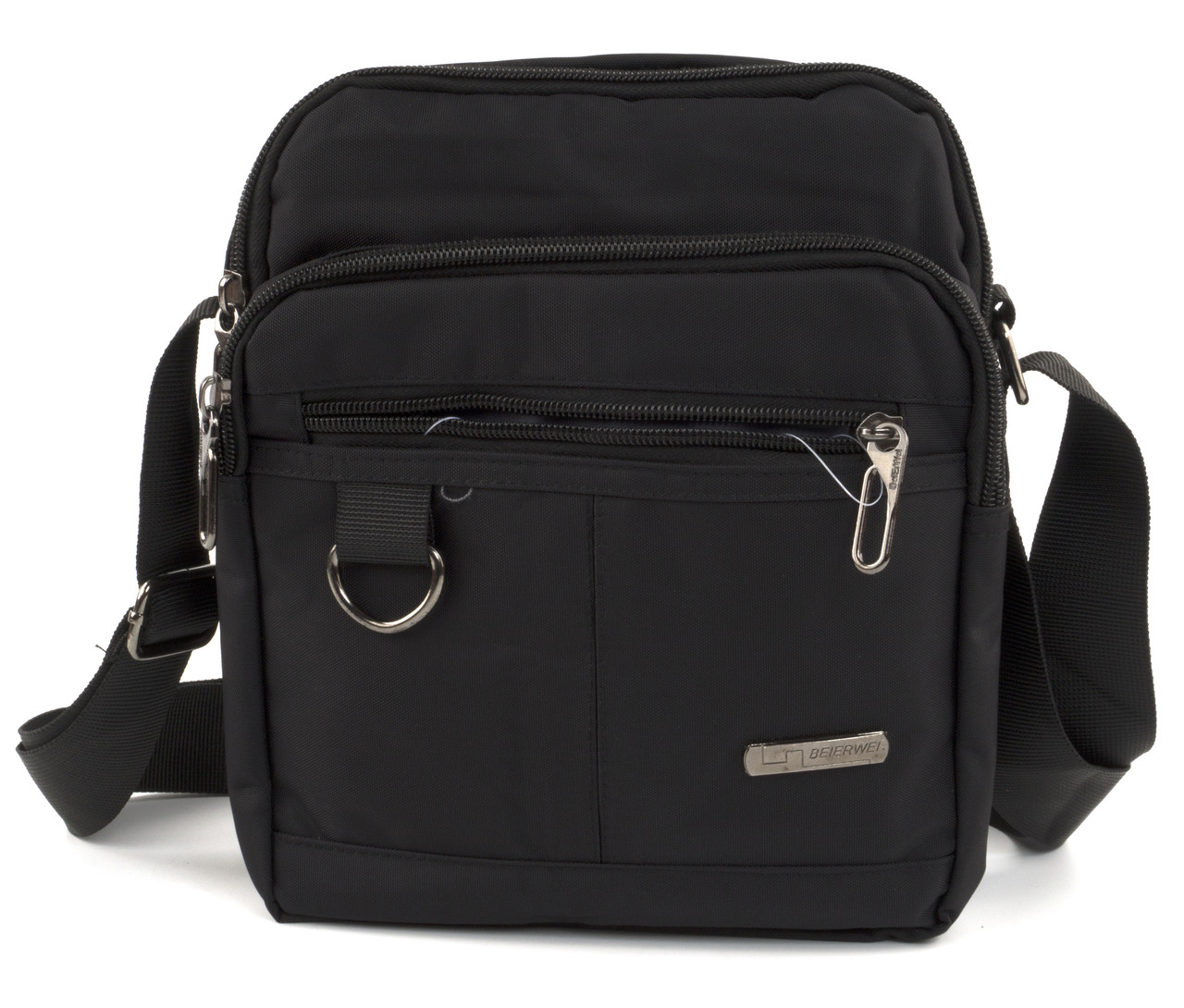 Вместительная мужская сумка Beierwei art. 6005 черная