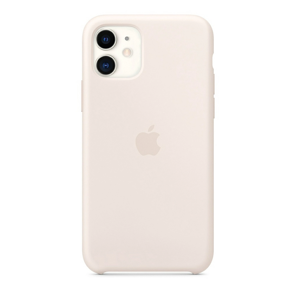 Чехол Silicone Case (Premium) для iPhone 11 Antique White