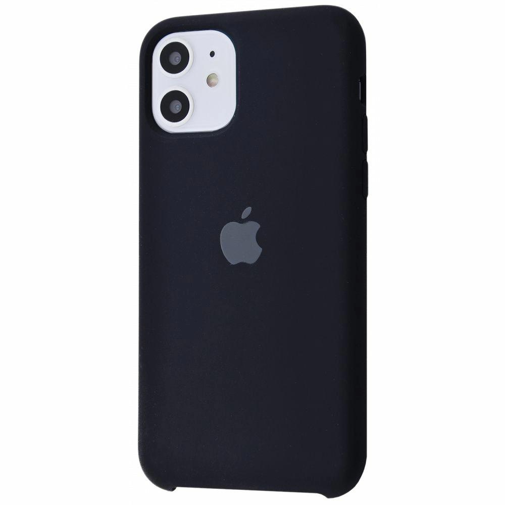 Чехол Silicone Case (Premium) для iPhone 11 Black