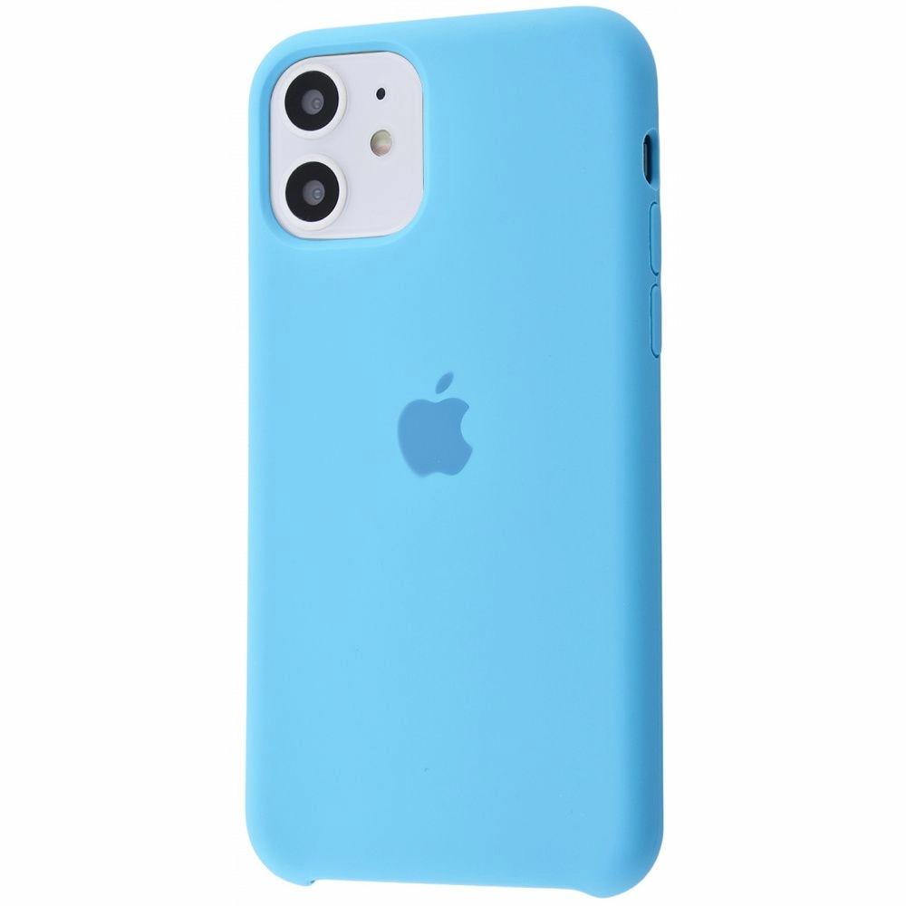 Чехол Silicone Case (Premium) для iPhone 11 Blue