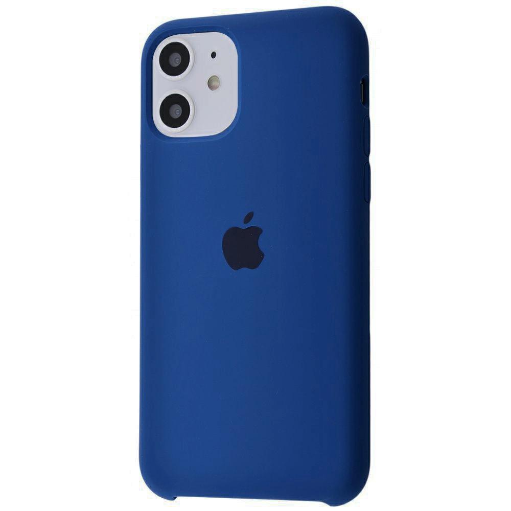 Чехол Silicone Case (Premium) для iPhone 11 Blue Horizon