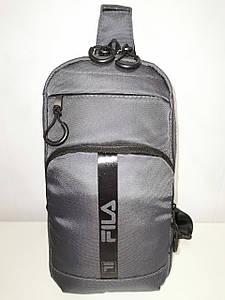 Барсетка FILA слинг на грудь сумка спортивные Оксфорд ткань1000D качества для через плечо ОПТ