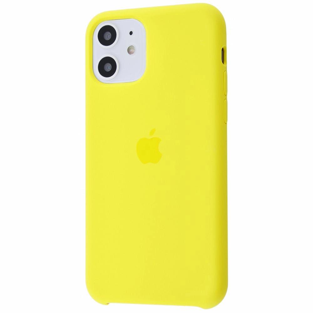 Чехол Silicone Case (Premium) для iPhone 11 Canary Yellow