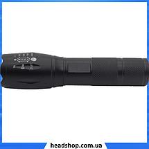 Тактичний ліхтарик Bailong Police 158000W BL-1831-T6 - ручний світлодіодний ліхтар акумуляторний, фото 3