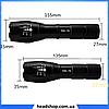 Тактичний ліхтарик Bailong Police 158000W BL-1831-T6 - ручний світлодіодний ліхтар акумуляторний, фото 2