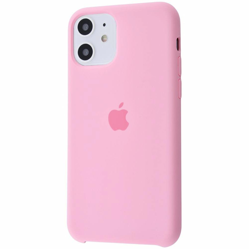 Чехол Silicone Case (Premium) для iPhone 11 Candy Pink