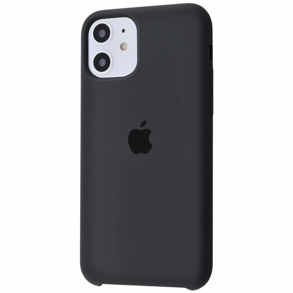 Чехол Silicone Case (Premium) для iPhone 11 Charcoal Gray