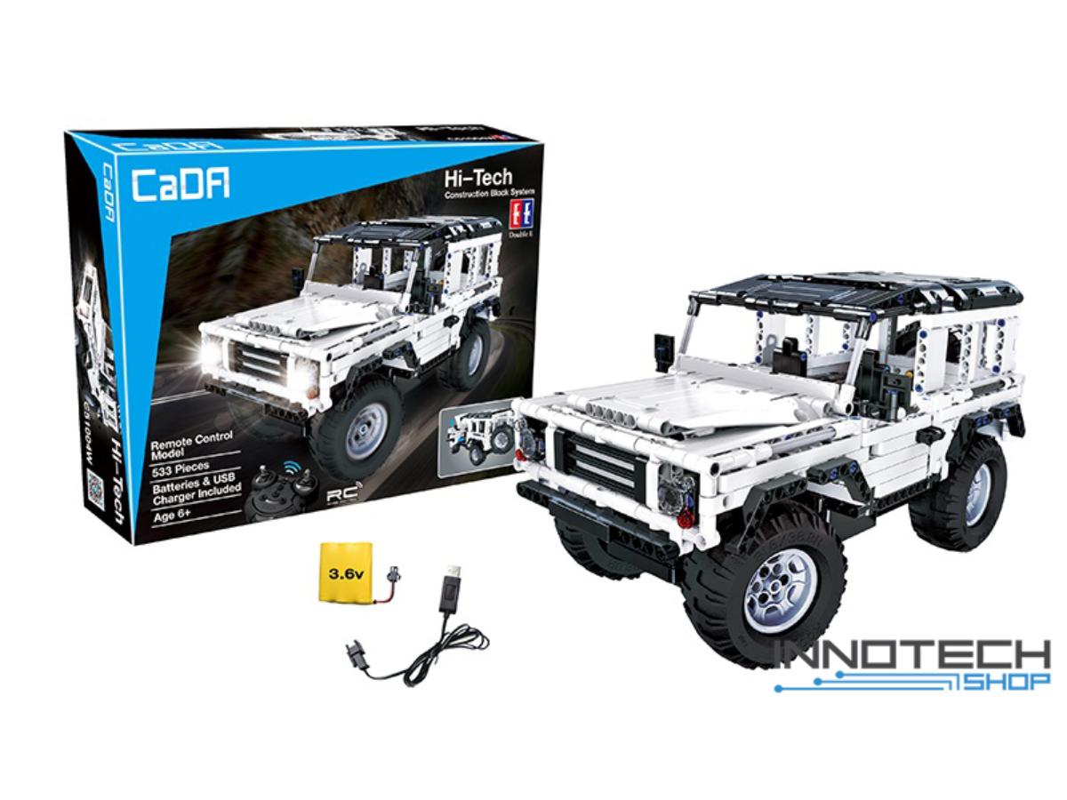 "Конструктор радіокерований C51004W CaDa Technic ""Land Rover"" з акумулятором , 533 деталей."
