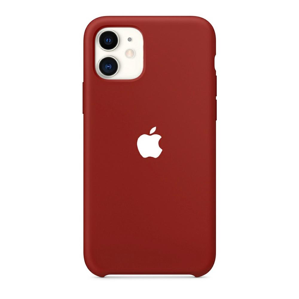 Чохол Silicone Case (Premium) для iPhone 11 Cherry
