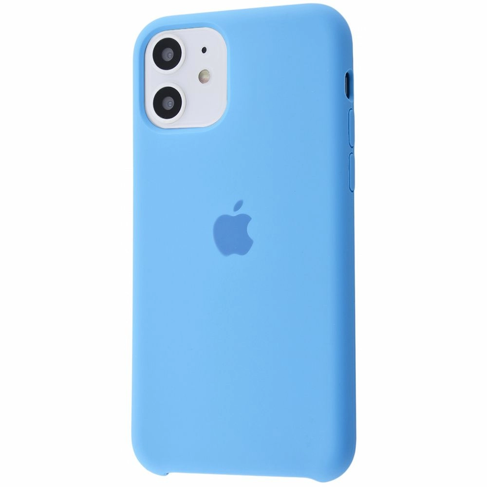 Чехол Silicone Case (Premium) для iPhone 11 Cornflower
