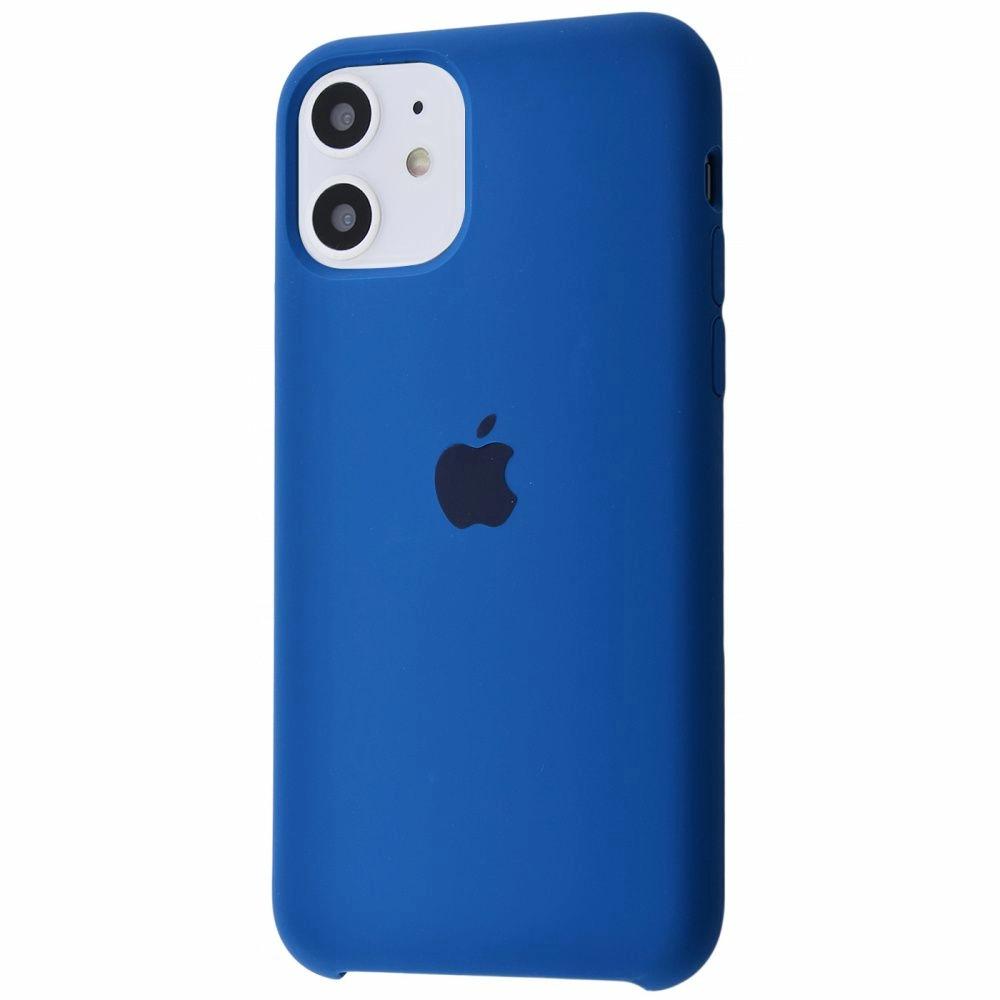 Чехол Silicone Case (Premium) для iPhone 11 Cosmos Blue