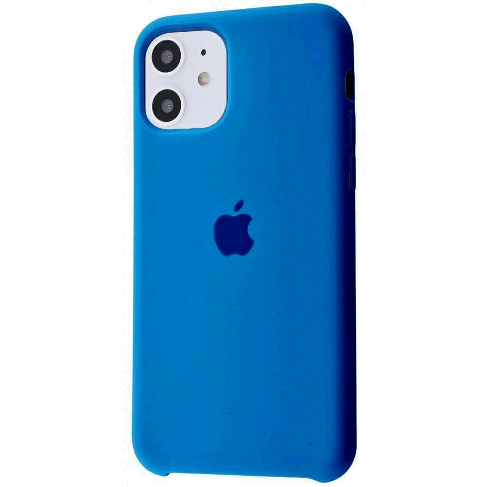 Чехол Silicone Case (Premium) для iPhone 11 Delft Blue