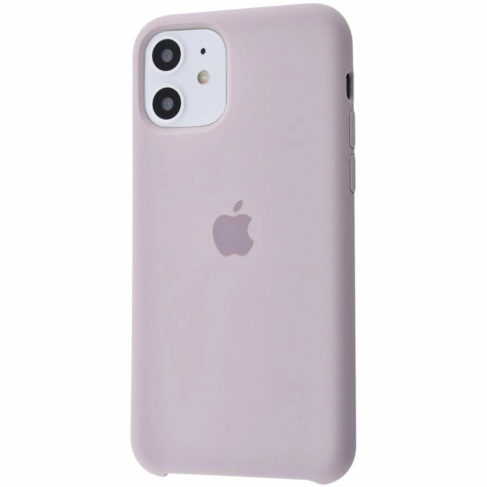 Чехол Silicone Case (Premium) для iPhone 11 Lavender