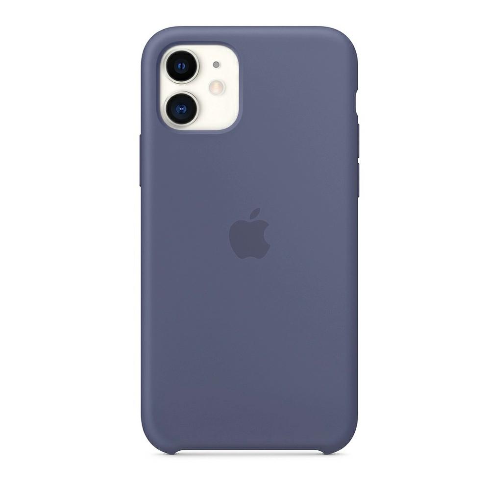 Чехол Silicone Case (Premium) для iPhone 11 Lavender Gray