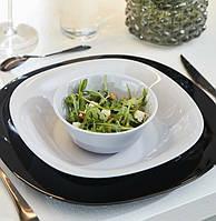 Білий порційний салатник Luminarc Carine white 120 мм (H3672)