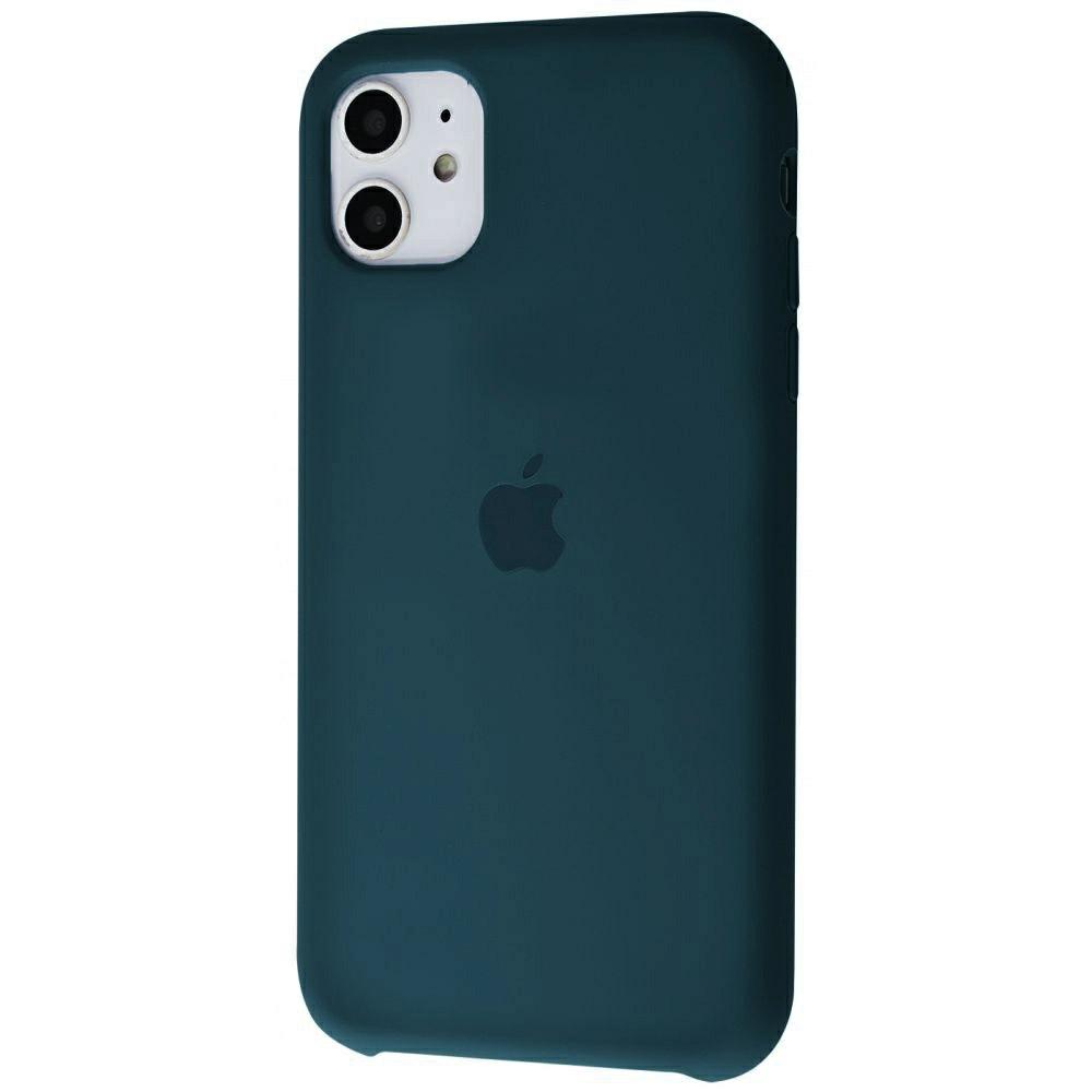 Чехол Silicone Case (Premium) для iPhone 11 Pacific Green
