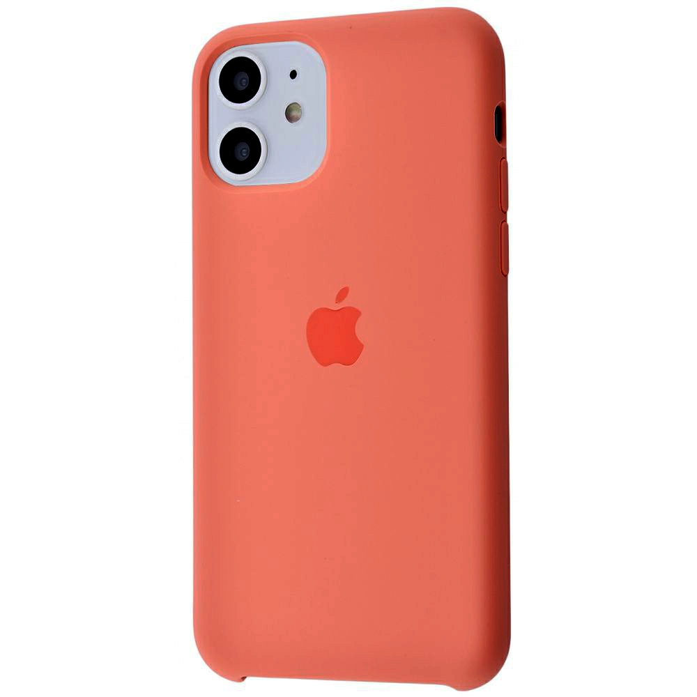 Чехол Silicone Case (Premium) для iPhone 11 Peach