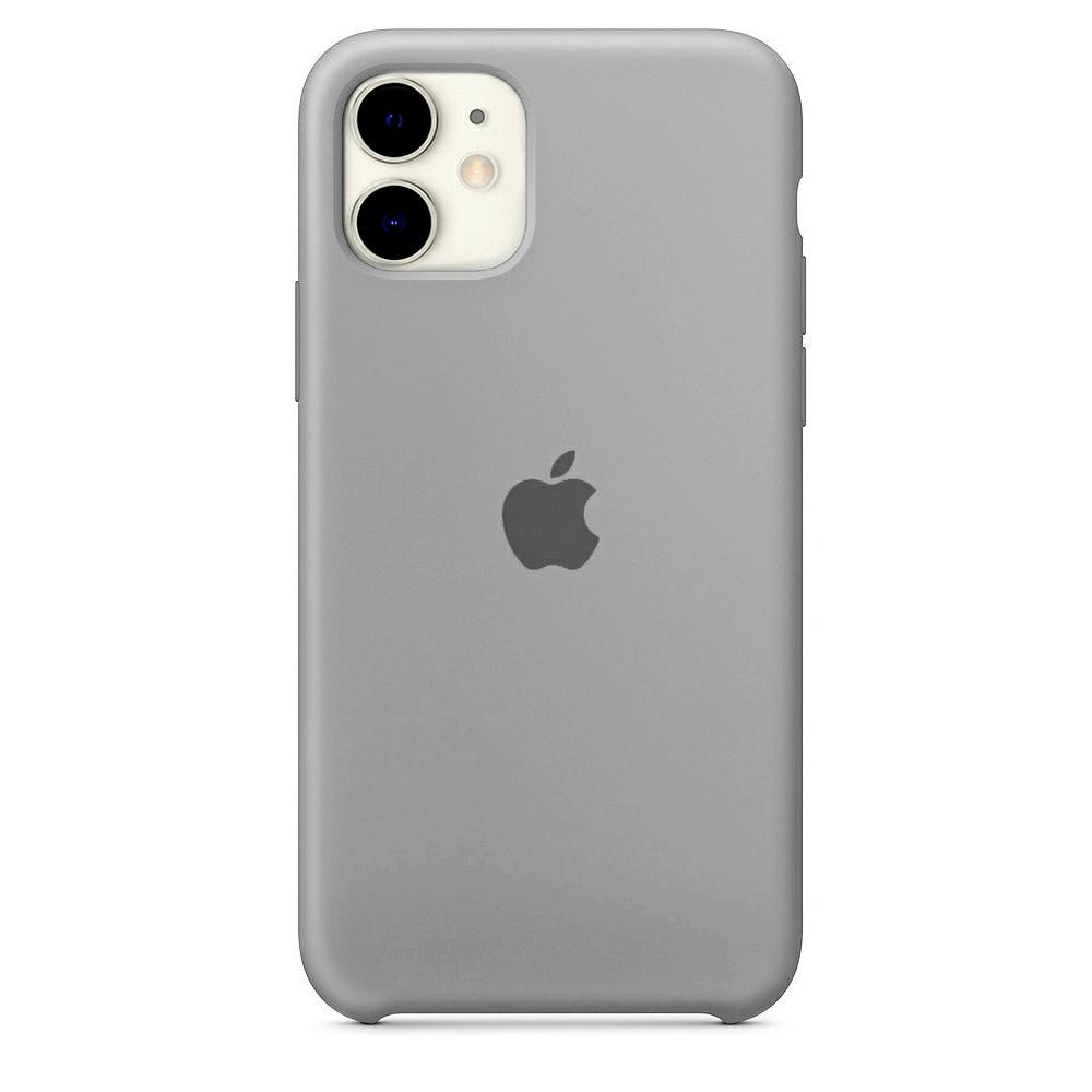 Чехол Silicone Case (Premium) для iPhone 11 Pebble