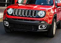 Jeep Renegade Хром на туманки (2 шт нерж)