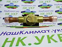 Соленоидный (соленоид) клапан (вентиль), с катушкой и клемником Castel 1028 / 3, ∅ 3/8 (9.5 мм) под пайку., фото 1