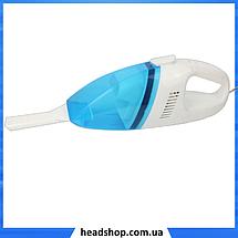 Автомобильный пылесос High-power Portable Vacuum Cleaner 508 - Компактный пылесос для сухой уборки авто, фото 3