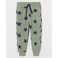 Дитячі штани джогери на флісі на хлопчика H&M на зріст 110 см (на 4-5 років)