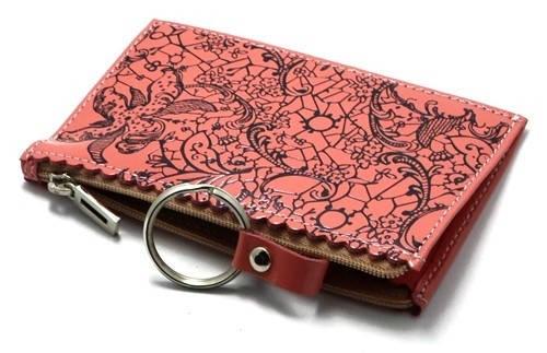Великолепная женская ключница Derby 0430467 кораловая; красная; фиолетовая; бирюзовая