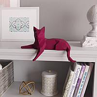 """3д модель """"Грациозный котик"""" из бумаги для детского творчества Papercraft набор паперкрафт украшение интерьера"""
