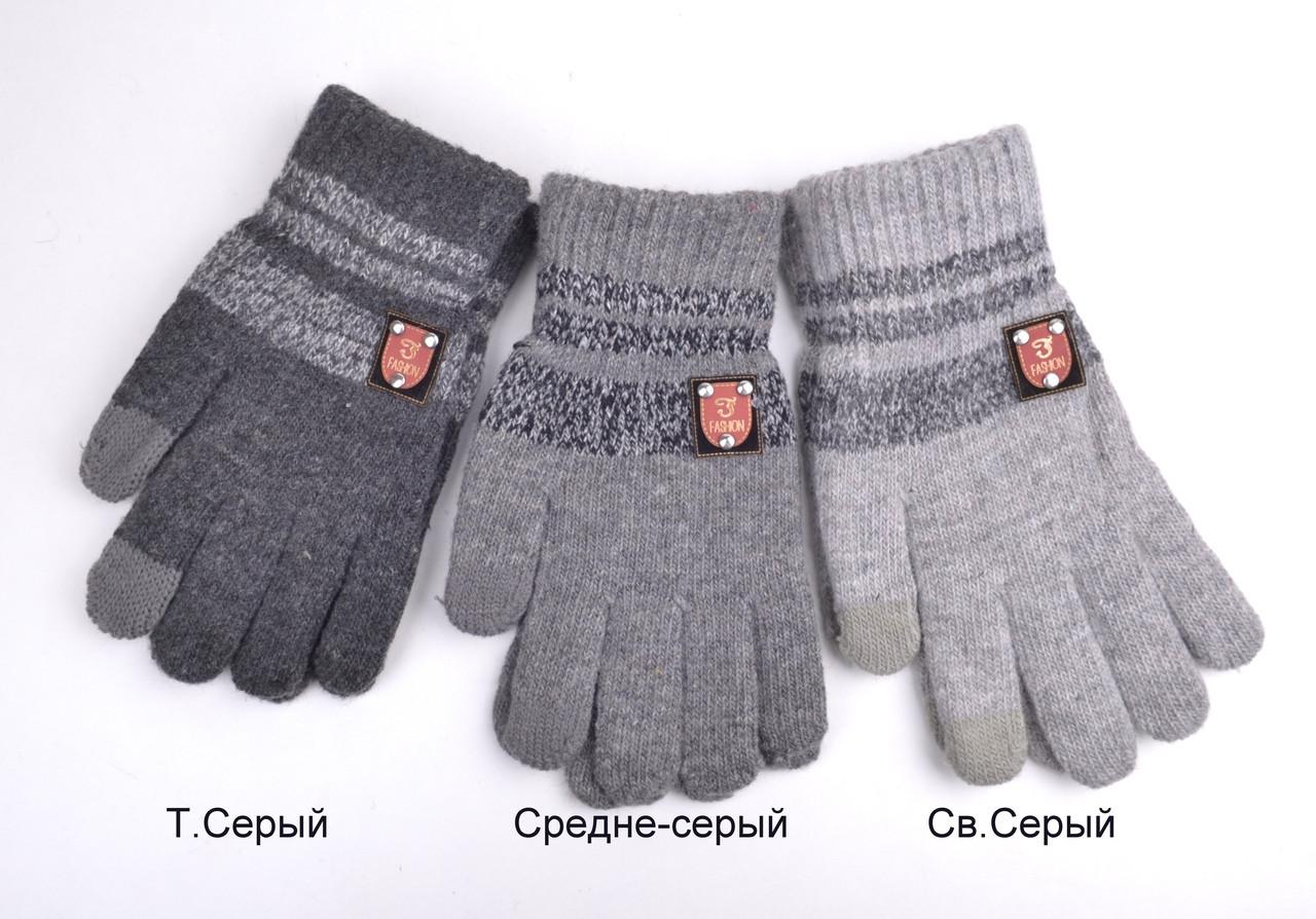 Сенсорные Перчатки Герб L св.серый