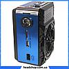 Радиоприемник Golon RX-9133 Синий - радиоприемник от сети с аккумулятором и фонариком, портативная USB колонка, фото 2