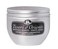 Крем для тела Tesori d'Oriente Body Cream Corpo Aromatica Muschio Bianco white musk 300мл Италия