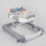Ходунки детские JOY 25109  с игровой панелью, фото 4