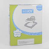 Ходунки детские JOY 25109  с игровой панелью, фото 6